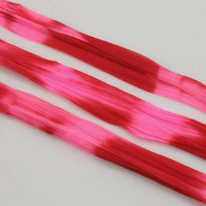Two colours Specially dyed nylon, Nylon, Pinkish red, pink, 1 pieces, Stretched size 1.5m x 15cm, (SWW0262)